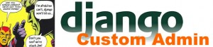 django custom admin
