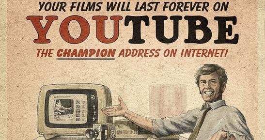 Social Media Propaganda Vintage Posters